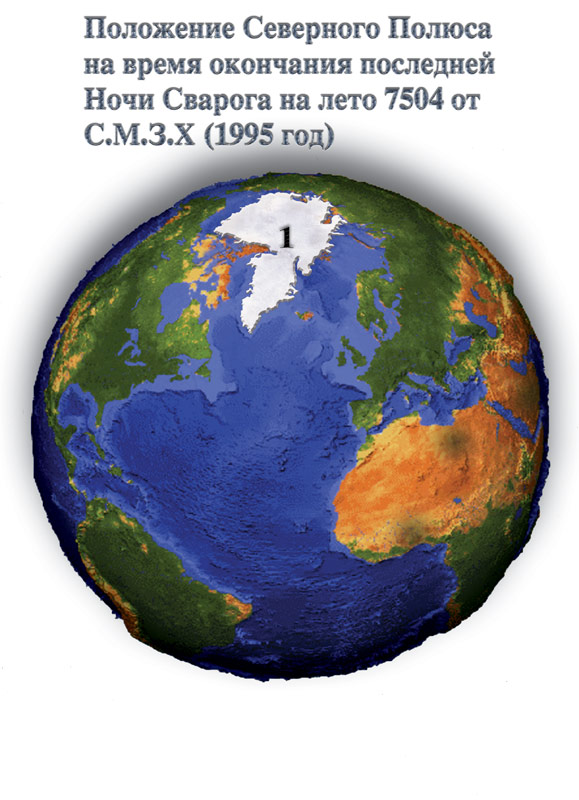В 1930 годах Эдгар Кейс предсказал смещение полюсов Земли зимой 1998...